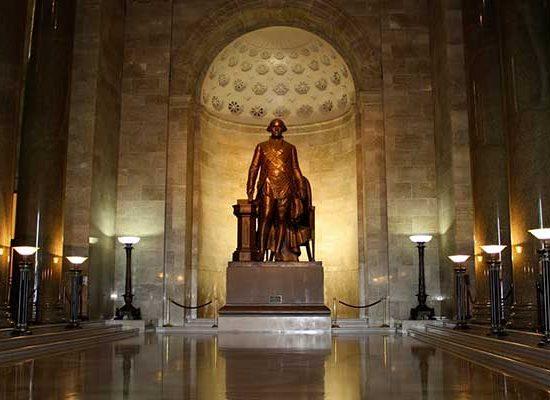 ประธานาธิบดีสหรัฐอเมริกาคนแรก
