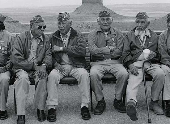 นาวาโฮ เผ่าที่เป็นส่วนหนึ่งของสงครามโลก